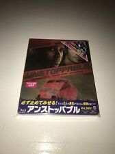 Unstoppable, blu ray steelbook (Japan), new and sealed