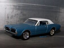 1967 67 MERCURY COUGAR XR-7  COLLECTIBLE 1/64 SCALE DIECAST MODEL - DIORAMA
