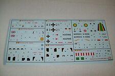 Airfix WESTLAND LYNX has.3/hma8/mk21/mk88 03063 1:72 SCALA DECALS