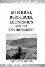 Mineral Resources, Economics, and the Environment Kesler, Stephen E. Hardcover