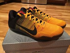 Nike Kobe XI 11 Elite Low Bruce Lee Warrior Spirit 822675 706 Men's Size 10