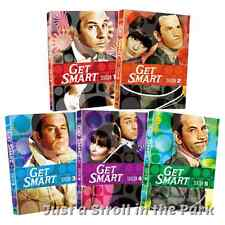 Get Smart: Complete Original TV Series Seasons 1 2 3 4 5 Box / DVD Set(s) NEW!