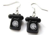 Telefon Ohrringe Telefonohrringe mit Wahlscheibe Hörer Miniblings Retro schwz