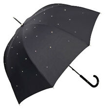 Von Lilienfeld Lea Umbrella With Swarovski Elements - Black