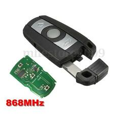 3 Button Smart 868MHz Remote Fob Key With Chip For BMW X5 X6 Z4 Series 1 3 5 6 7