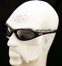 RARE OAKLEY MINUTE 1.0 2ND GENERATION MATTE BLACK FRAME BLACK IRIDIUM #04-081