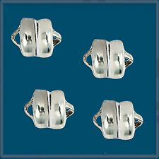 12pcs 7.75mm Silver Color MAG-LOK MAGNETIC CLASPS