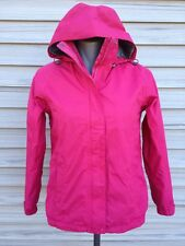 L L Bean Women's Gore-Tex Rain CoatJacket StowAway Pink Packable Sz XS Windproof