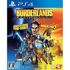 Borderlands [Double Deluxe Collection] SONY PS4 JAPANESE NEW JAPANZON