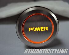 SAVAGE POWER ENGINE START Push Button Switch AUTO * AMBRA LED * & LT & ltexclusive & GT e GT