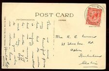 Scotland Bute 1929 PPC Whiting Bay ARRAN mailed from PO fair postmark J E George