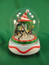 Disney Nightmare Before Christmas Jack on Carousel Music Dome Vignette MIB