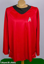 Star Trek Motion Picture Scotty Red & Black Uniform Costume Shirt