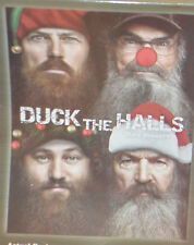 DUCK DYNASTY Duck the Halls FLEECE THROW Christmas WILLIE Phil JASE Uncle Si