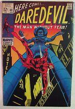 Marvel Comics - Daredevil #48 - 1960s Silver Age Comic Book - Priced Under Guide