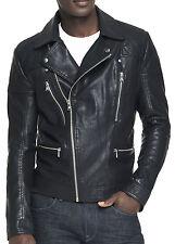 New EXPRESS Men's Faux Leather Biker Moto Motorcycle Jacket, nwt, L, $250 *LAST*