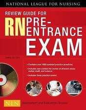 Review Guide for LPN/LVN Pre-Entrance Exam, 3rd Edition [Paperback]: Natl Leagu