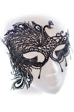 BN Ladies STUNNING VENETIAN MASQUERADE EYE MASK HALLOWEEN PARTY LACE FANCY DRESS