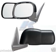 2002-2008, 2009 DODGE RAM 1500 2500 3500 CLIP SNAP-ON TOW SIDE MIRROR EXTENSION