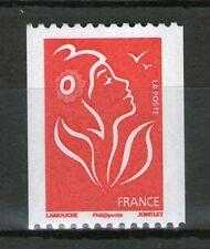 TIMBRE N° 3743a NEUF XX - MARIANNE DE LAMOUCHE - TVP ROUGE - ROULETTE