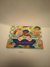 VINTAGE Kids TV SHOW TOTS TV RIGIDA STORY POP UP BOOK ANNI'90