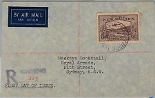 NEW GUINEA -  POSTAL HISTORY - FDC OVER : SG 220 1939