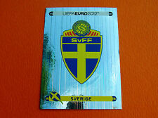 427 ECUSSON BADGE SVERIGE FOOTBALL PANINI UEFA EURO 2012
