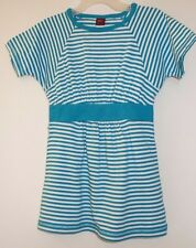 NWT Tea Collection Mineral Green Stripe Sport Dress Girl's Size 2
