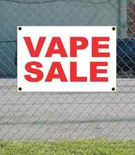 2x3 VAPE SALE Red & White Banner Sign NEW Discount Size & Price FREE SHIP