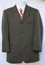 Reunion, Men's jacket blazer / coat  only, 40R, 3 buttons, Dark Olive Green