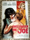 ZWEI FRAUEN UM JOE / WALL OF NOISE * HARRISON - A1-FILMPOSTER EA - 1965 GOETZE