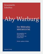 Gesammelte Schriften, Bd.2/1, Der Bilderatlas - Mnemosyne by Warburg, Aby, Warn