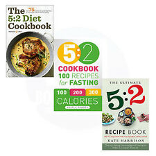 The Ultimate 5:2 Diet,The 5:2 Diet Cookbook & The 5:2 Cookbook 3 Books Set