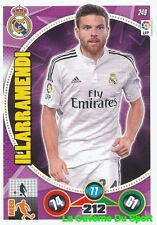 249 ASIER ILLARRAMENDI ESPANA REAL MADRID CARD ADRENALYN 2015 PANINI