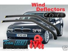 BMW 7 E65 2001-2008 wind deflectors 2.pcs for FRONT DOORS HEKO 11118