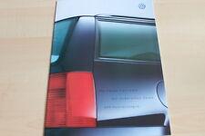 113606) VW Passat Variant - technische Daten & Ausstattungen - Prospekt 10/1999