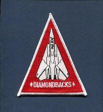 VF-102 DIAMONDBACKS US NAVY GRUMMAN F-14 TOMCAT Squadron Shoulder Patch