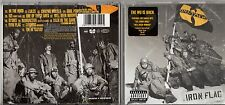 IRON FLAG CD THE WU TANG CLAN 13 tracce 2001
