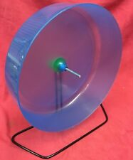 Plastic Rat Exercise Wheel 11 Inch On Stand Or Clips On Silent Hamster Gerbil