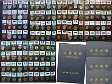 120 Different Collection World Coins from 120 Countries & Regions with an Album