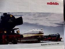 Catalogo MARKLIN Novità 2005 - DEU ENG - Tr.5