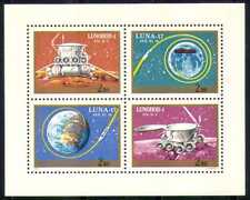 Hungary 1971 Space/Rockets/Moon/Luna-17 4v shtlt n28522