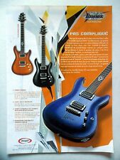 PUBLICITE-ADVERTISING :  Guitares IBANEZ SZ  06/2003
