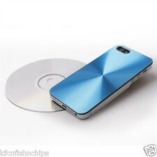 High Quality Aluminum CD Metal Hard Back Case Cover iPhone 5 5S( Free 3 Gifts)