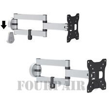 Articulating Monitor Wall Mount for Asus Acer Dell HP LG NEC 20 21 22 23 24 27""