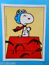figurines figuren stickers snoopy figurine i love snoopy n. 230 panini 1980-90