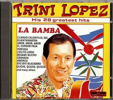 TRINI LOPEZ - HIS 28 GREATEST HITS   CD  1988  JOKER  ITALY