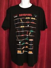 NEW & RARE Marvel Comics Shirt- DEADPOOL 8-BIT Video Game/Donkey Kong! Men's XL