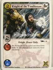A Game of Thrones LCG - 1x Knight of the Tumblestone #S018 - Ice and Fire Draft