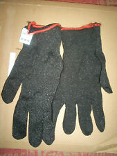 WELLS LAMONT CUT-RESISTANT SAFETY GLOVES SIZE 8 MEDIUM UNUSED KEVLAR BLACK